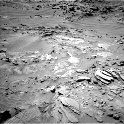 Nasa's Mars rover Curiosity acquired this image using its Left Navigation Camera on Sol 1311, at drive 316, site number 54