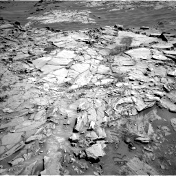 Nasa's Mars rover Curiosity acquired this image using its Left Navigation Camera on Sol 1311, at drive 388, site number 54