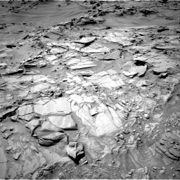 Nasa's Mars rover Curiosity acquired this image using its Right Navigation Camera on Sol 1311, at drive 244, site number 54