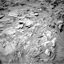 Nasa's Mars rover Curiosity acquired this image using its Right Navigation Camera on Sol 1311, at drive 250, site number 54