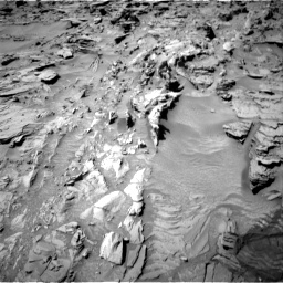 Nasa's Mars rover Curiosity acquired this image using its Right Navigation Camera on Sol 1311, at drive 256, site number 54