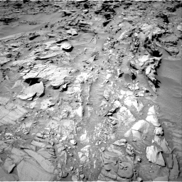 Nasa's Mars rover Curiosity acquired this image using its Right Navigation Camera on Sol 1311, at drive 262, site number 54