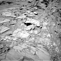 Nasa's Mars rover Curiosity acquired this image using its Right Navigation Camera on Sol 1311, at drive 268, site number 54