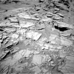 Nasa's Mars rover Curiosity acquired this image using its Right Navigation Camera on Sol 1311, at drive 280, site number 54