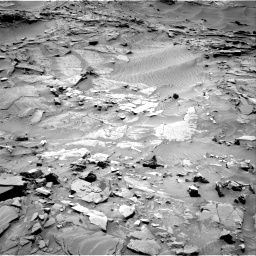 Nasa's Mars rover Curiosity acquired this image using its Right Navigation Camera on Sol 1311, at drive 292, site number 54