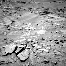Nasa's Mars rover Curiosity acquired this image using its Right Navigation Camera on Sol 1311, at drive 298, site number 54