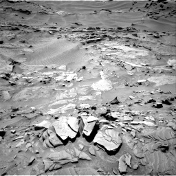 Nasa's Mars rover Curiosity acquired this image using its Right Navigation Camera on Sol 1311, at drive 304, site number 54