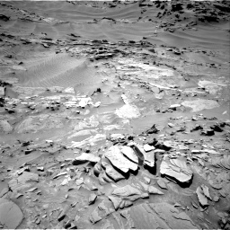 Nasa's Mars rover Curiosity acquired this image using its Right Navigation Camera on Sol 1311, at drive 310, site number 54