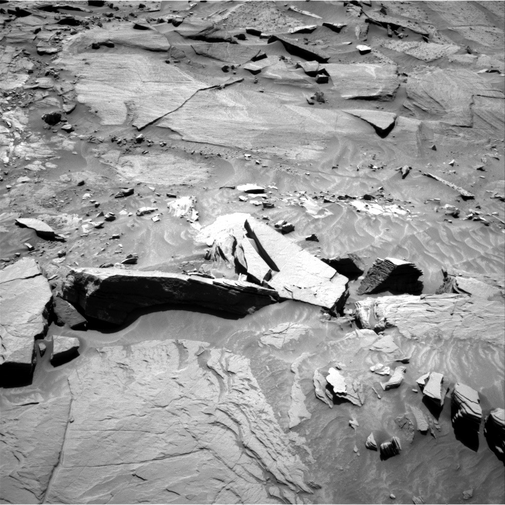 Nasa's Mars rover Curiosity acquired this image using its Right Navigation Camera on Sol 1311, at drive 316, site number 54