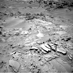 Nasa's Mars rover Curiosity acquired this image using its Right Navigation Camera on Sol 1311, at drive 322, site number 54