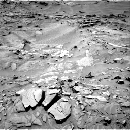 Nasa's Mars rover Curiosity acquired this image using its Right Navigation Camera on Sol 1311, at drive 334, site number 54