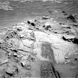 Nasa's Mars rover Curiosity acquired this image using its Right Navigation Camera on Sol 1311, at drive 340, site number 54