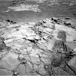 Nasa's Mars rover Curiosity acquired this image using its Right Navigation Camera on Sol 1311, at drive 358, site number 54