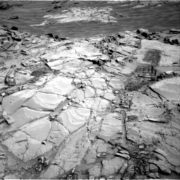 Nasa's Mars rover Curiosity acquired this image using its Right Navigation Camera on Sol 1311, at drive 370, site number 54