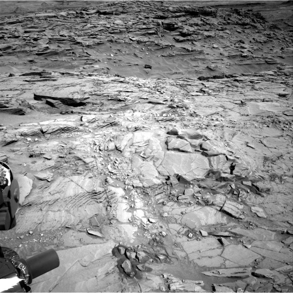 Nasa's Mars rover Curiosity acquired this image using its Right Navigation Camera on Sol 1311, at drive 388, site number 54
