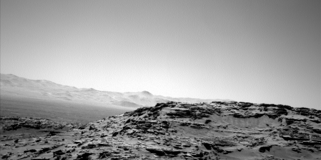 Nasa's Mars rover Curiosity acquired this image using its Left Navigation Camera on Sol 1312, at drive 388, site number 54