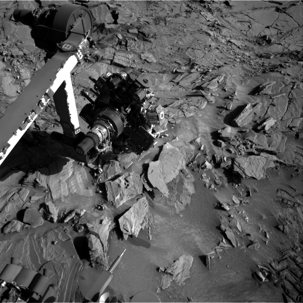 Nasa's Mars rover Curiosity acquired this image using its Right Navigation Camera on Sol 1313, at drive 388, site number 54