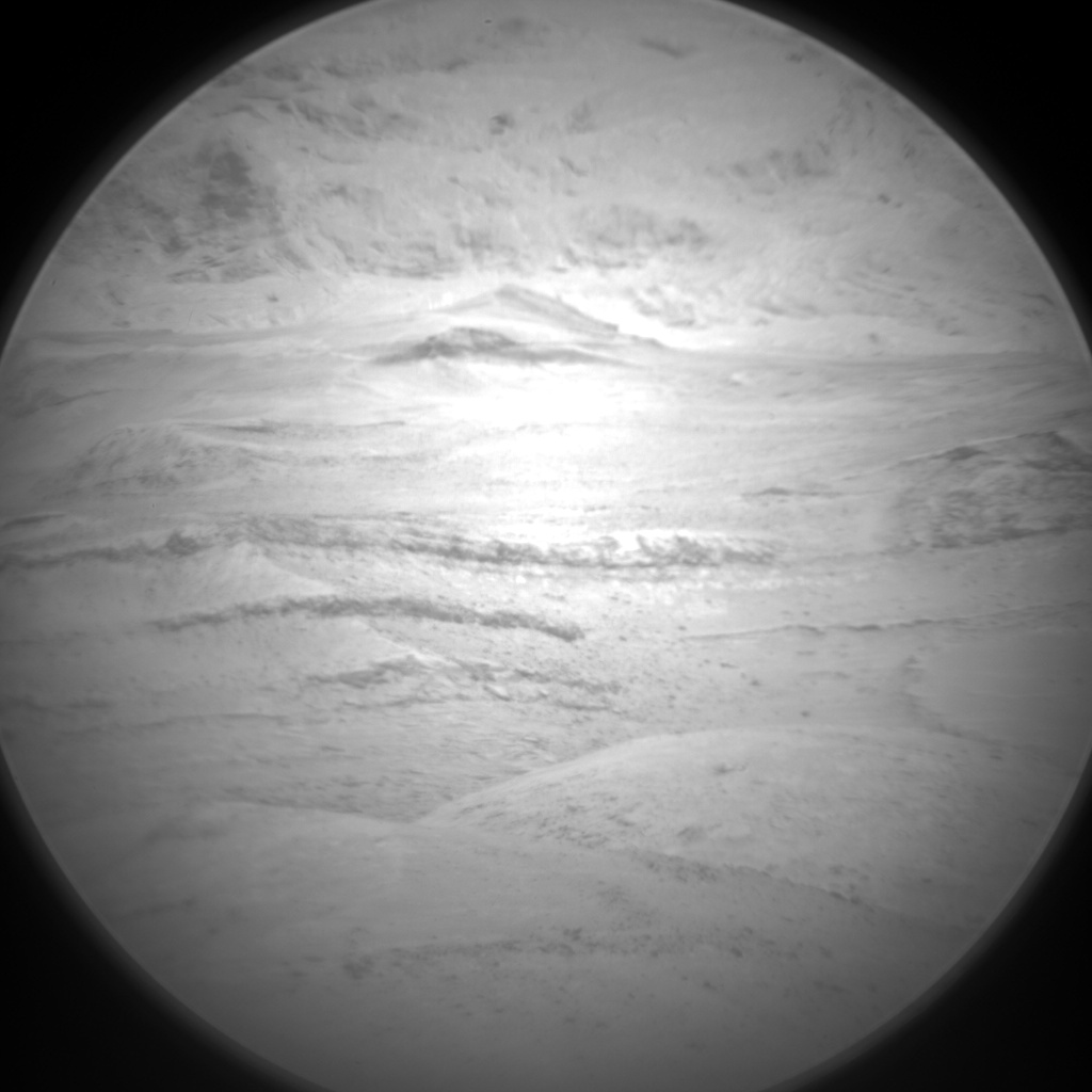 Nasa's Mars rover Curiosity acquired this image using its Chemistry & Camera (ChemCam) on Sol 1314, at drive 388, site number 54