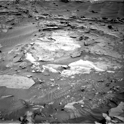 Nasa's Mars rover Curiosity acquired this image using its Right Navigation Camera on Sol 1315, at drive 388, site number 54