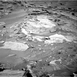 Nasa's Mars rover Curiosity acquired this image using its Right Navigation Camera on Sol 1315, at drive 394, site number 54