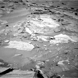 Nasa's Mars rover Curiosity acquired this image using its Right Navigation Camera on Sol 1315, at drive 400, site number 54