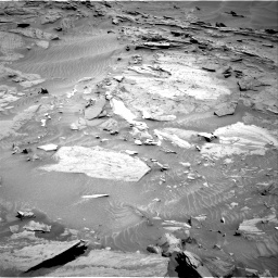 Nasa's Mars rover Curiosity acquired this image using its Right Navigation Camera on Sol 1315, at drive 406, site number 54