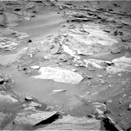 Nasa's Mars rover Curiosity acquired this image using its Right Navigation Camera on Sol 1315, at drive 412, site number 54