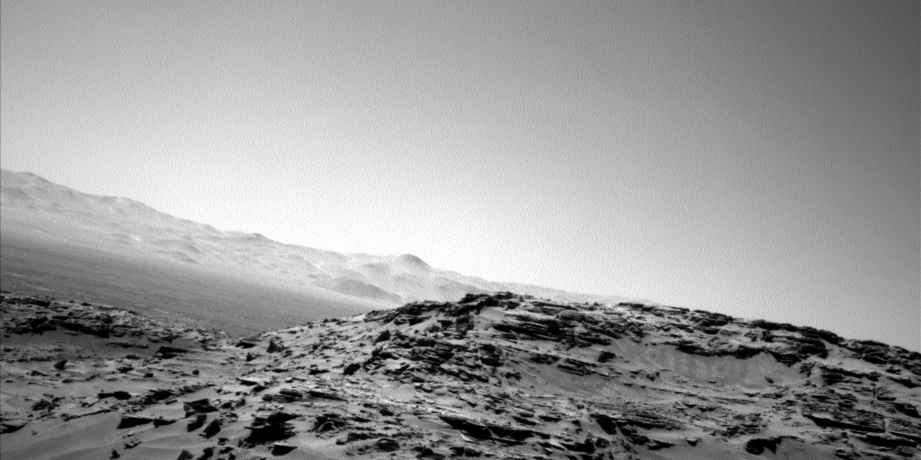 Nasa's Mars rover Curiosity acquired this image using its Left Navigation Camera on Sol 1316, at drive 412, site number 54