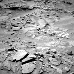 Nasa's Mars rover Curiosity acquired this image using its Left Navigation Camera on Sol 1316, at drive 436, site number 54