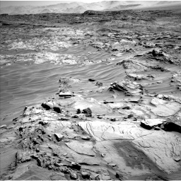 Nasa's Mars rover Curiosity acquired this image using its Left Navigation Camera on Sol 1316, at drive 454, site number 54