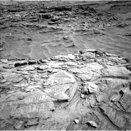 Nasa's Mars rover Curiosity acquired this image using its Left Navigation Camera on Sol 1316, at drive 460, site number 54
