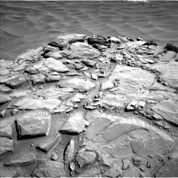 Nasa's Mars rover Curiosity acquired this image using its Left Navigation Camera on Sol 1316, at drive 484, site number 54