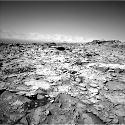 Nasa's Mars rover Curiosity acquired this image using its Left Navigation Camera on Sol 1316, at drive 610, site number 54