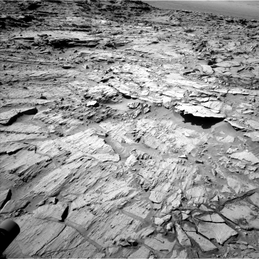 Nasa's Mars rover Curiosity acquired this image using its Left Navigation Camera on Sol 1316, at drive 622, site number 54