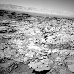 Nasa's Mars rover Curiosity acquired this image using its Left Navigation Camera on Sol 1316, at drive 634, site number 54
