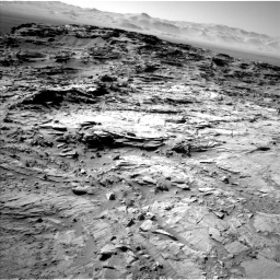 Nasa's Mars rover Curiosity acquired this image using its Left Navigation Camera on Sol 1316, at drive 658, site number 54