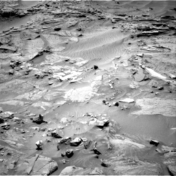 Nasa's Mars rover Curiosity acquired this image using its Right Navigation Camera on Sol 1316, at drive 424, site number 54