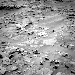 Nasa's Mars rover Curiosity acquired this image using its Right Navigation Camera on Sol 1316, at drive 430, site number 54
