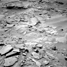 Nasa's Mars rover Curiosity acquired this image using its Right Navigation Camera on Sol 1316, at drive 436, site number 54