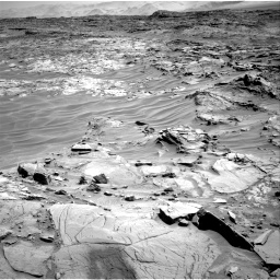 Nasa's Mars rover Curiosity acquired this image using its Right Navigation Camera on Sol 1316, at drive 448, site number 54