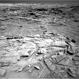 Nasa's Mars rover Curiosity acquired this image using its Right Navigation Camera on Sol 1316, at drive 454, site number 54