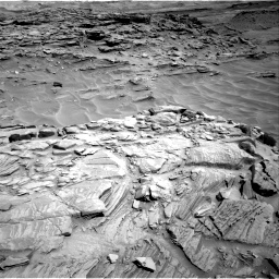 Nasa's Mars rover Curiosity acquired this image using its Right Navigation Camera on Sol 1316, at drive 460, site number 54