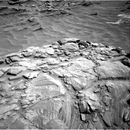 Nasa's Mars rover Curiosity acquired this image using its Right Navigation Camera on Sol 1316, at drive 472, site number 54