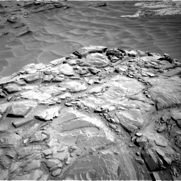 Nasa's Mars rover Curiosity acquired this image using its Right Navigation Camera on Sol 1316, at drive 478, site number 54