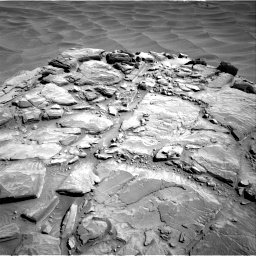 Nasa's Mars rover Curiosity acquired this image using its Right Navigation Camera on Sol 1316, at drive 490, site number 54