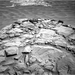 Nasa's Mars rover Curiosity acquired this image using its Right Navigation Camera on Sol 1316, at drive 496, site number 54