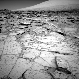 Nasa's Mars rover Curiosity acquired this image using its Right Navigation Camera on Sol 1316, at drive 514, site number 54