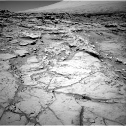 Nasa's Mars rover Curiosity acquired this image using its Right Navigation Camera on Sol 1316, at drive 526, site number 54
