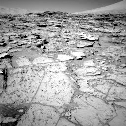 Nasa's Mars rover Curiosity acquired this image using its Right Navigation Camera on Sol 1316, at drive 538, site number 54