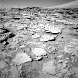 Nasa's Mars rover Curiosity acquired this image using its Right Navigation Camera on Sol 1316, at drive 556, site number 54